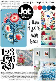 Jot Magazine September Mood Board