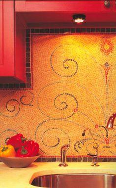 Kitchen Back Splash Mosaic