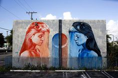 Art Murals by Kevin Ledo - I am so in love with these! #art #mural www.agencyattorneys.com