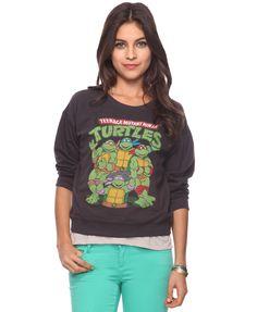 Ninja Turtles Pullover  $19.80