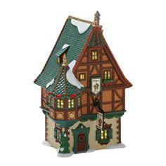 "Item #: 4025237  ""Rhineland Wine Tavern""    Size: 4.5 x 4 x 7.75""  US Retail:   	$90.00  CAD Retail:   	$108.00  Collector Notes:  •	Introduced January, 2012"