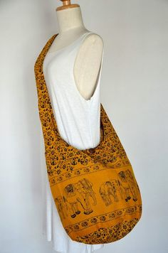 Hey, I found this really awesome Etsy listing at https://www.etsy.com/listing/196897802/elephant-bag-hippie-hobo-bag-sling