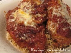 Slow Cooker Chicken Parm - It's a Keeper