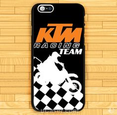 KTM Racing Team motorcycles iPhone Cases Case