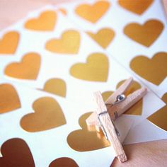 heart of gold stickers