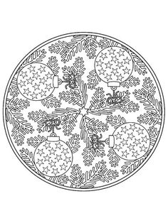 coloring page Mandala Christmas on Kids-n-Fun. Coloring pages of Mandala Christmas on Kids-n-Fun. More than coloring pages. At Kids-n-Fun you will always find the nicest coloring pages first! Mandalas Painting, Mandalas Drawing, Mandala Coloring Pages, Printable Coloring Pages, Coloring Pages For Kids, Coloring Sheets, Coloring Books, Christmas Mandala, Colorful Christmas Tree