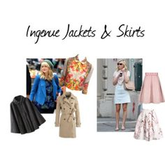 Ingenue jackets and skirts
