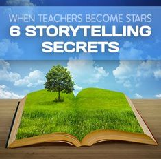 When Teachers Become Stars: 6 Storytelling Secrets. There are some excellent videos on YouTube for storytelling. I especially like the ones with African storytellers for role models.