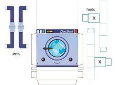 Ces deux papertoys machine à laver – garçon et fille – sont particulièrement mignons, surtout en binôme ! Une réalisation de Gobeetsa, sur un patron orignal de Lemi (Thunder Panda). Si on aime, on clique sur lire la suite… BrianLire la suitePapertoys Lemi Fresh de Goobeetsa (x 2)