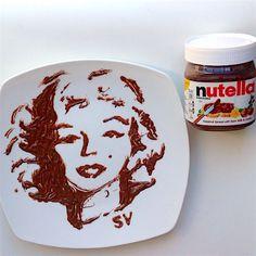Nutella Marilyn Monroe take 2