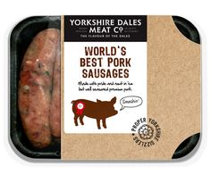 yorkshire dales meat Co. : pork sausages - robot-food