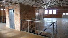 Renovated warehouse space in downtown Tucson.