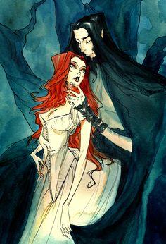 Hades and Persephone II by AbigailLarson on deviantART