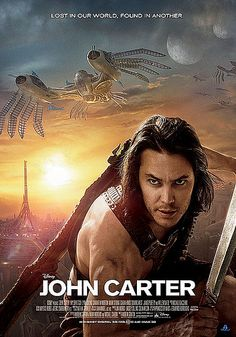 John Carter - Watched this movie this weekend 6-11-12. There was a lot of things about this movie that I didn't understand but I love science fiction so I had to see it. I really enjoyed it.