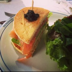#Petrossian Club Sandwich #caviar Photo by leoribeiro01 • Instagram