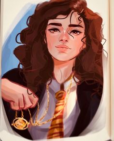 Some of the best fan art of Hermione, and the unique way each artist see and draws her. Fanart Harry Potter, Harry Potter Artwork, Slytherin Harry Potter, Harry Potter Drawings, Harry Potter Facts, Harry Potter Universal, Harry Potter Movies, Harry Potter World, Hermione Granger Art