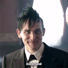 Robin Lord Taylor, possibly the best Penguin ever.
