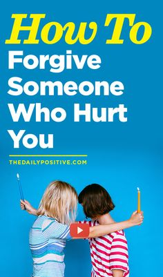 """""""Forgiveness is like letting a prisoner free and finding out the prisoner was you."""" Who do you need to forgive?"""