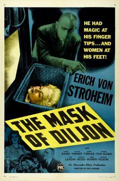 THE MASK OF DIJON (Lew Landers, 1946)  900×1367 пикс
