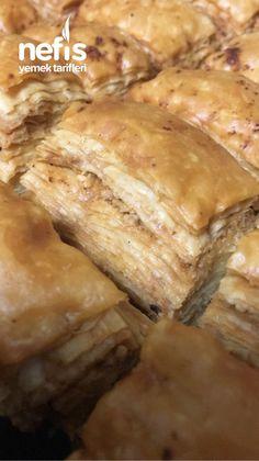 Kolay Baklava Baklava Cheesecake, Banana Bread, Pork, Sweets, Meat, Chicken, Desserts, Essen, Kale Stir Fry