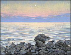 HOW GOOD THOU ART, OH SEA AT NIGHTFALL by Badusev on DeviantArt