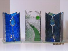 Stained Glass Candle Holders and Picture Frames - The K-W Central ...