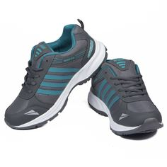 Asian #Shoes Wonder 13 Grey Firozi #Men's #Sports Shoes Buy now:- http://amzn.to/2v32nGS