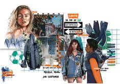 Jasmine Bennett — Northumbria Fashion Mode Portfolio Layout, Fashion Portfolio Layout, Fashion Design Sketchbook, Fashion Sketches, Drawing Fashion, Portfolio Ideas, Fashion Story, Fashion Books, Fashion Communication