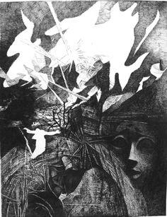 Ohrožení Abstract, Artwork, Painting, Summary, Work Of Art, Auguste Rodin Artwork, Painting Art, Artworks, Paintings