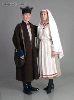 Polskie stroje ludowe, Strój biłgorajski/   Polish Folk Costume from Bilgoraj Region