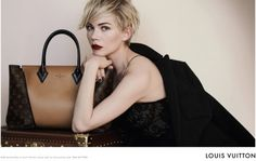 Michelle Williams Louis Vuitton; This. Is. Everything. #LV #Bags