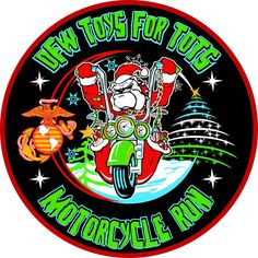 McKinney, TX - Dec. 5, 2015: DFW Toys for Tots Motorcycle Run. The 47 mile Ride begins at Freedom PowerSports.  www.dfw-tft-mr.org/
