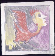 LUIS DESENHA: Síria uma galinha que olha os falcões.