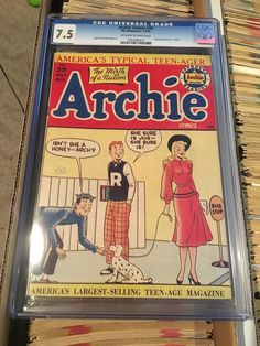 This is for an Archie comics CGC It is the highest graded one I've seen! Archie Comics Jughead, Teen, Baseball Cards