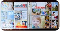 Love everything about these Disney PL pages by Susan Weinroth.