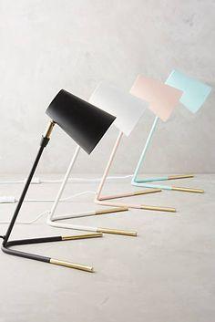 Gold-Dipped Task Lamp $98, Anthropologie