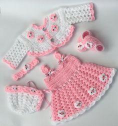 Baby Crochet Patterns Baby Dress Pattern Crochet shoes