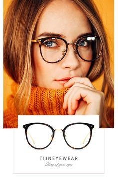 Top Eyewear Season Collections - Top eyewear season collections of TIJN Eyewear. - Top Eyewear Season Collections – Top eyewear season collections of TIJN Eyewear. Cute Glasses Frames, Womens Glasses Frames, Women In Glasses, Specs Frames Women, Glasses Trends, Lunette Style, Portrait Studio, Fashion Eye Glasses, New Glasses