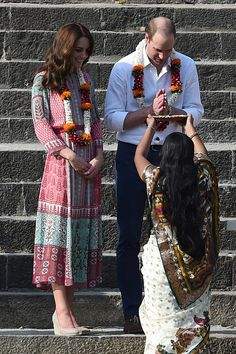 Prince William, Duke of Cambridge and Catherine, Duchess of Cambridge Visit India and Bhutan - Day 1 on April 10, 2016 in Mumbai, India.