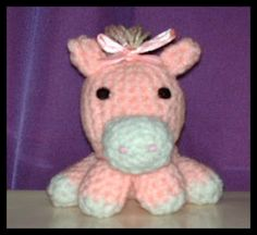 Crafty Things: Amigurumi Pony