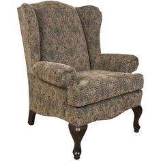 Lovely ... Indiana Furniture Store. See More. England Colleen Upholstered Wing  Chair With Cabriole Legs   Godby Home Furnishings   Wing Chair Noblesville