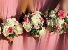 Fleurs naturelles Bridesmaid Dresses, Wedding Dresses, Bouquets, Floral Wreath, Creations, Wreaths, Decor, Fashion, Wedding Bouquet