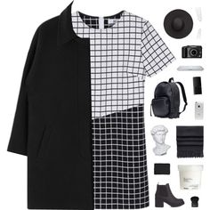 A fashion look from January 2015 featuring H&M backpacks, Acne Studios scarves and Witchery hats. Browse and shop related looks.