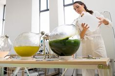 They hope to replace synthetic plastic products with ones made of algae.