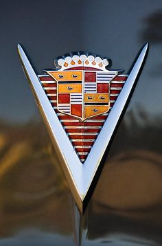 1947 Cadillac Model 62 Coupe Emblem by Jill Reger