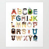 Muppets Alphabet