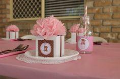 Table setting - Baby Shower Girl