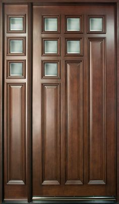 Entry doors are frequently more than just front doors– those we examined can additionally be used in back or on the side. Because the front entry of your residence regulates the most attention . Read Best Entry Doors Ideas That Really Great To Install Wood Entry Doors, Wood Exterior Door, Wooden Front Doors, Door Entry, Entrance Doors, Sliding Doors, Modern Wooden Doors, Contemporary Front Doors, Modern Door