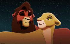 The Lion King Pride Photo: kiara licks kovu Kiara Lion King, Kiara And Kovu, The Lion King 1994, Lion King 2, Simba And Nala, Lion King Movie, Simba Disney, Disney Lion King, Disney And Dreamworks