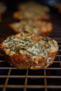 Spinach Ricotta Bites (makes 16 - 20 bites) 2 Tbsp Butter 1 Small ...